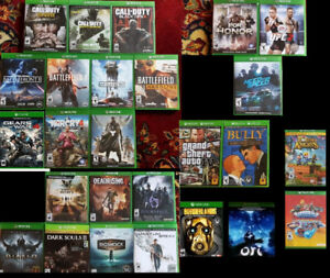 XBOX One Shooter Action Fighting Sports Games (Various Prices) `