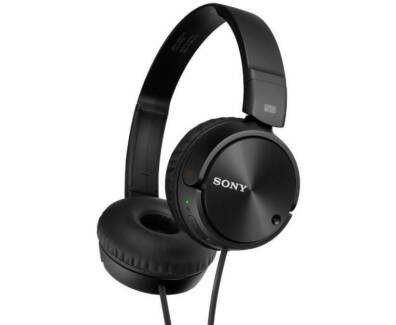 🎧 Sony MDRZX110NC Noise Cancelling Headphones Black BRAND NEW 🎧