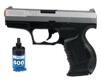 Refurbished Walther P99 Bi-Color Spring Airsoft Pistol w/bbs Free Ship! P99 Pistol Gun