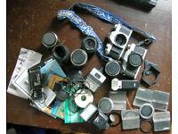 35mm camera equipment £60 the lot.