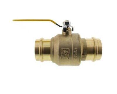 2 Propress Brass Ball Valves - Press Brass Ball Valve- Lead Free Brass