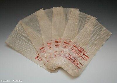 Konvolut 6 x Tüten aus Drogerie (Hamm) um 1955