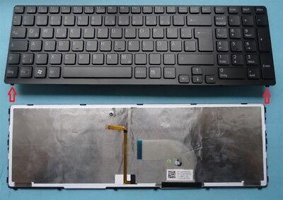 Tastatur SONY Vaio SVE1713Y1EB SVE1713X1E/B SVE17 Backlit Beleuchtet Keyboard