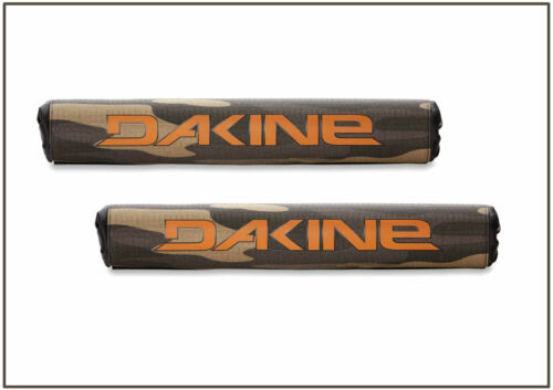 DAKINE ROOF RACK PADS, Round Padded Crossbar Rack Pads (2) Board Transport, Camo