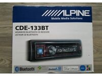 Alpine Car Stereo inc USB/Parrot Bluetooth/MP3/CD