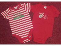 2x Christmas Vests