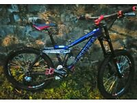 KONA STINKY FULL SUSPENSION WITH LOTS OF UPGRADES £450