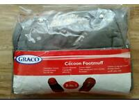 Graco 2-in-1 Cocoon FootMuff New