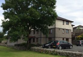 Modern and spacious 2 bedroom flat in Dalbeattie with great views