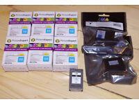 HP 56 black ink cartridges Hewlett Packard cartridge refills, inkjet cartridges, 8 available