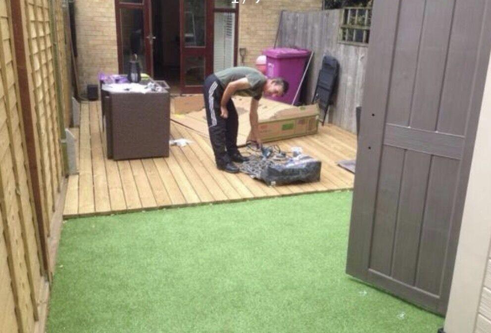 Decking ,Paving, Artificial grass....All London area