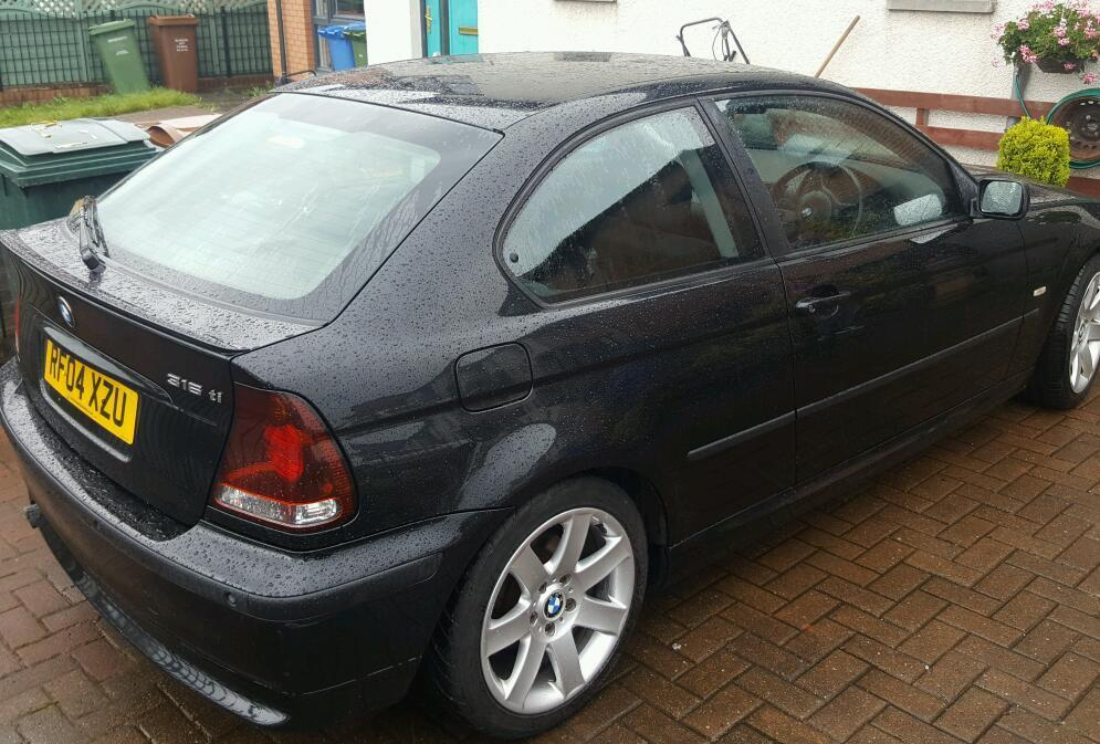 bmw 316 ti compact 2004 in east end glasgow gumtree. Black Bedroom Furniture Sets. Home Design Ideas