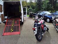 ****Motorbike Collection Delivery Recovery Motorcycle Bike Scooter Moped Courier