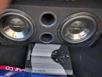 Fusion twin sub & amp