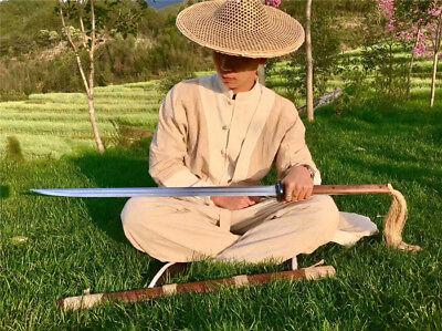 Fighting Sword - Wonderful Chinese Fighting Jian Sword Katana Sharp 1090High Carbon Steel Blade