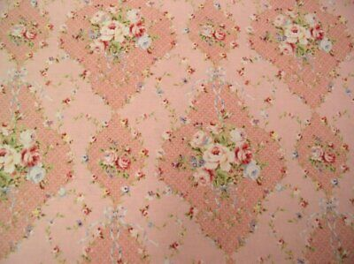 Cottage Shabby Chic Lecien Rococo & Sweet Floral Fabric 31861L-20 Pink BTY