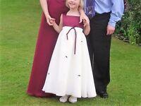 Bridesmaid dress (child)