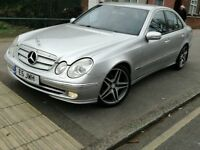 Mercedes Benz E320 CDI AMG 222BHP