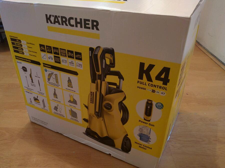 karcher k4 premium full control pressure washer in camberwell london gumtree. Black Bedroom Furniture Sets. Home Design Ideas