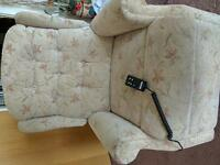 Mains operated reclining/lifting armchair/mobility armchair