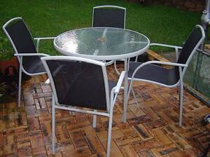 Five piece Outdoor Garden Patio or Barbecue Setting Stafford Brisbane North West Preview
