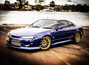 Nissan s15 areo model Silvia s15 jdm blue manual spec r Palmview Maroochydore Area Preview