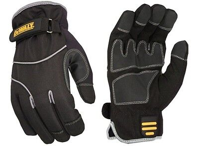 Dewalt Work Gloves Dpg748 Lg Wind And Water Resistant Cold Weather Winter
