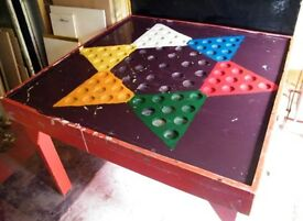Giant chinese checkers game