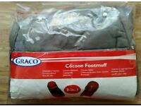 Graco Cocoon 2-in-1 Footmuff Cosy Toes
