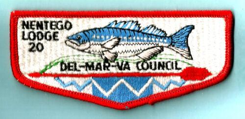 20 S- NENTEGO OA Lodge 1960