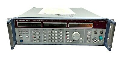 Rohde Schwarz Signal Generator Smg 801.0001.52 Woptions Calibrated