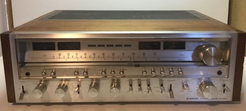 Pioneer SX-1080 AM/FM Stereo Receiver VG Condition Works