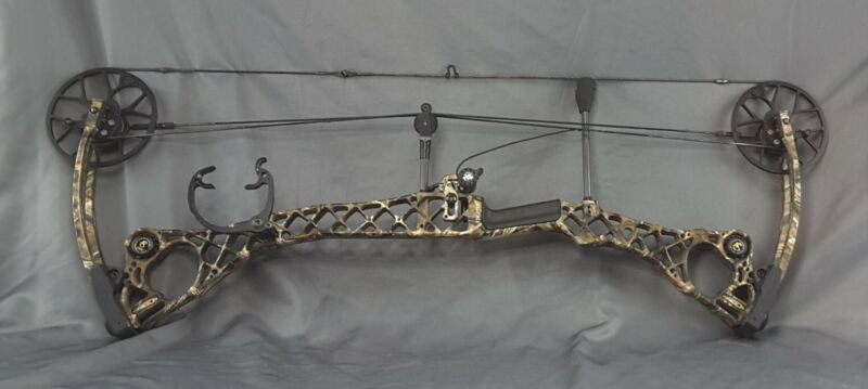 Mathews No Cam ST HTR Compound Bow 70# /28in./ Left Hand ~ Bare Bow
