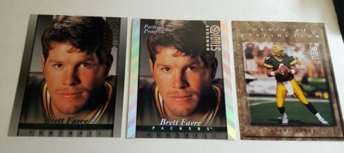 1997 BRETT FAVRE DONRUSS STUDIO SILVER PORTRAIT PROOF PHOTO 8×10 PACKERS  RARE