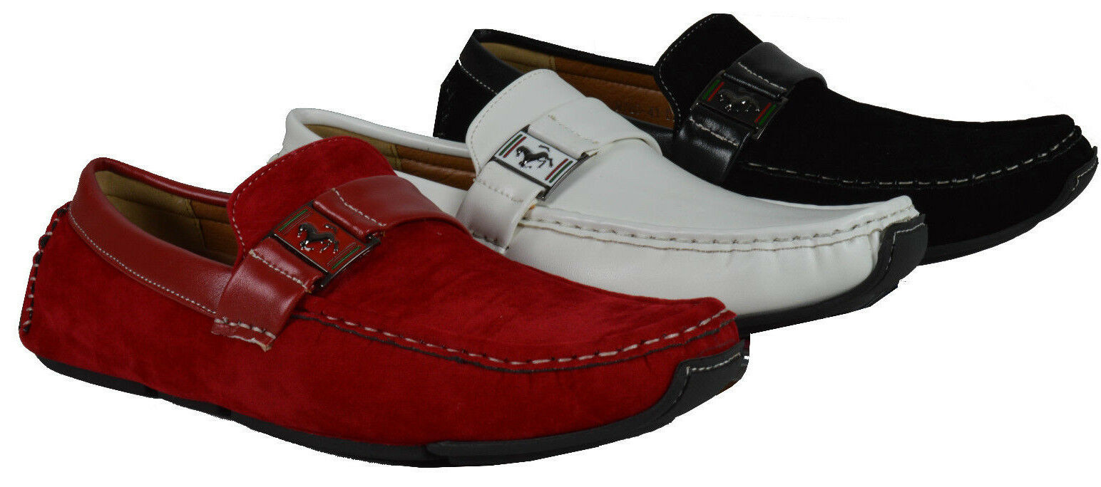 Men's Giovanni Dress Shoe Driving Moccasin Wedding Loafer Italian Casual M788-41