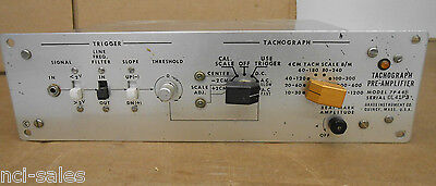Grass Instruments Tachograph Pre-amplifier Model 7p44b