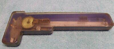 Rare German Mauser 6 Dial Caliper 2 Hands .001.010