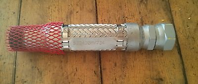 Pac Mech Flexible Metal Hose 1 Mpt X Fjic Ca-247664-2 S22420my734 On Ss Tag