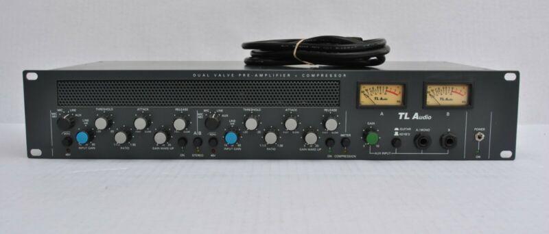 TL Audio C1 Dual Vacuum Tube Preamp & Compressor w/ Upgraded SSM2019 Pres