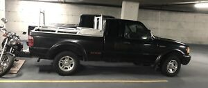 Ford Ranger '02 Crew Cab, Black on Black