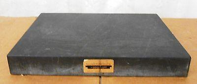 METROPLATE, GRANITE SURFACE PLATE, 6333, B GRADE, 0-LEDGE, 24''X 18'' X 3''