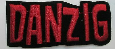 DANZIG MISFITS COLLECTABLE RARE VINTAGE PATCH EMBROIDED 90'S METAL LIVE