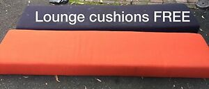Cushion and ottoman Warriewood Pittwater Area Preview