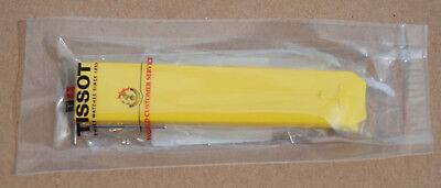 Tissot T-Touch - Original-Armband  - orange / schwarz / gelb - NEU vom Händler