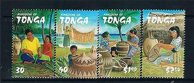 Tonga 2002 Weaving .SG 1527-30 MNH