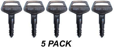 Komatsu 787 Key Fits Most 5 Pack