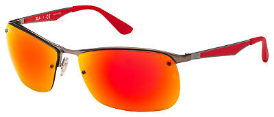 Ray-Ban Sunglasses RB 3550 029/6Q 64 Gunmetal | Red Mirror Lens