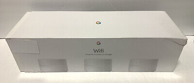 Google Home Wi-Fi System 3 pack AC1200 Routers Dual-Band 2.4GHz/5GHz AC-1304