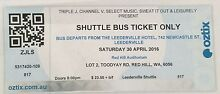 RUFUS SHUTTLE TICKET (Leedy) Northbridge Perth City Preview