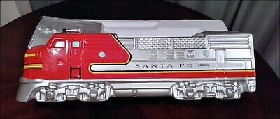 "LIONEL ""SANTA FE"" COOKIE JAR NEW MINT IN BOX COLLECTORS EDITION"